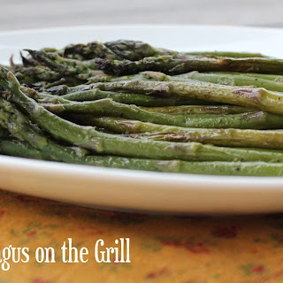Steamed Asparagus on the Grill.