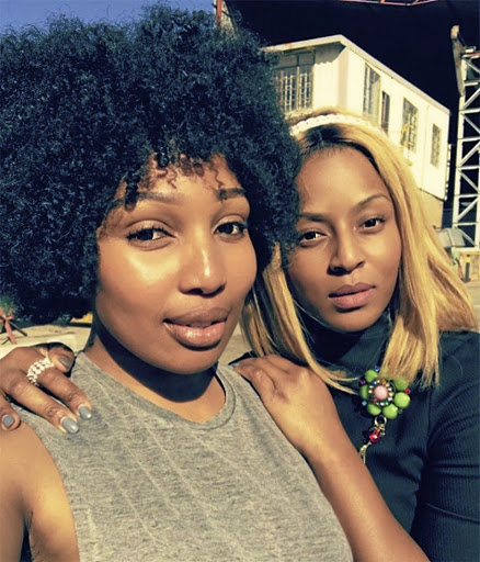 Hard cash comes between the friendship of TV stars Phindile Gwala and Jessica Nkosi. / Instagram