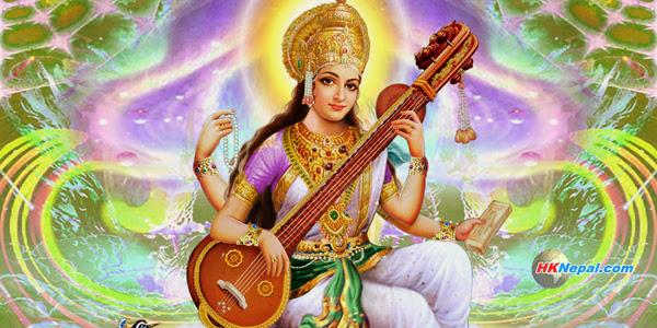 आज विद्याकी देवी सरस्वतीको पूजा गरिदै, कस-कसले गर्छन् पूजा ?
