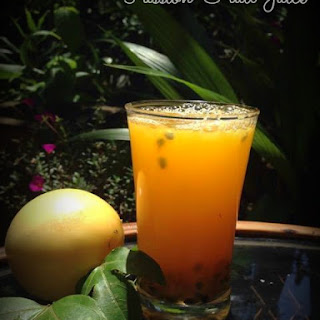 Passion Fruit Juice Recipes.