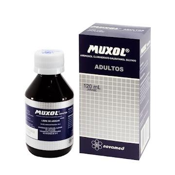 Muxol Adultos Jarabe   Fco. x120Ml. Novamed Ambroxol Salbutamol Sulfato