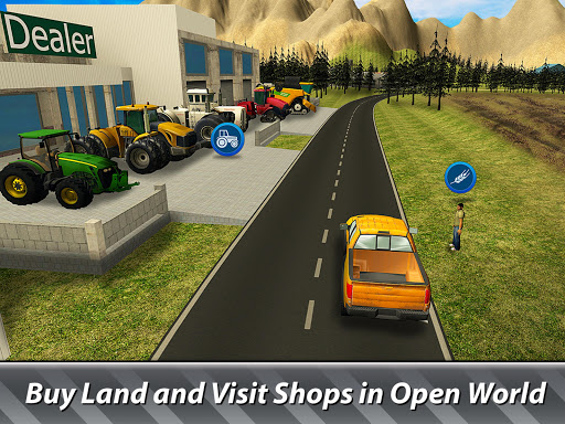 ud83dude9c Farm Simulator: Hay Tycoon grow and sell crops apkpoly screenshots 8