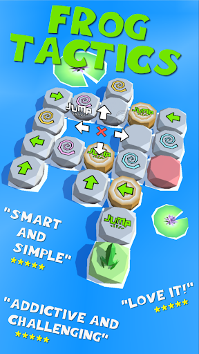 Frog Tactics - Fun Logic Puzzles & Brain Game 3.13 screenshots 1