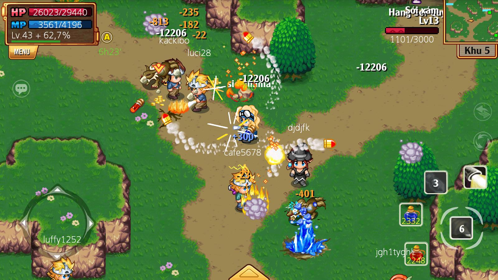 Screenshots of Ksatria Online for iPhone