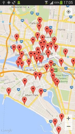 墨爾本單車地圖