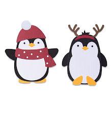 Sizzix Bigz Die - Penguin Friends