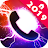 Color Flash Launcher - Call Screen, Themes logo