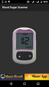 Blood Sugar Scanner Prank screenshot 2
