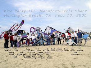Photo: 2005 Manufacturer's Shoot (Kite Party 3) (The name Mike Kirk should say Mike Dennis)