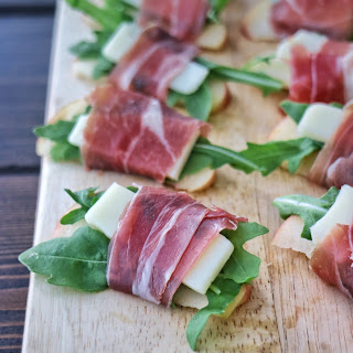 Prosciutto Wrapped Apple Bites Recipe