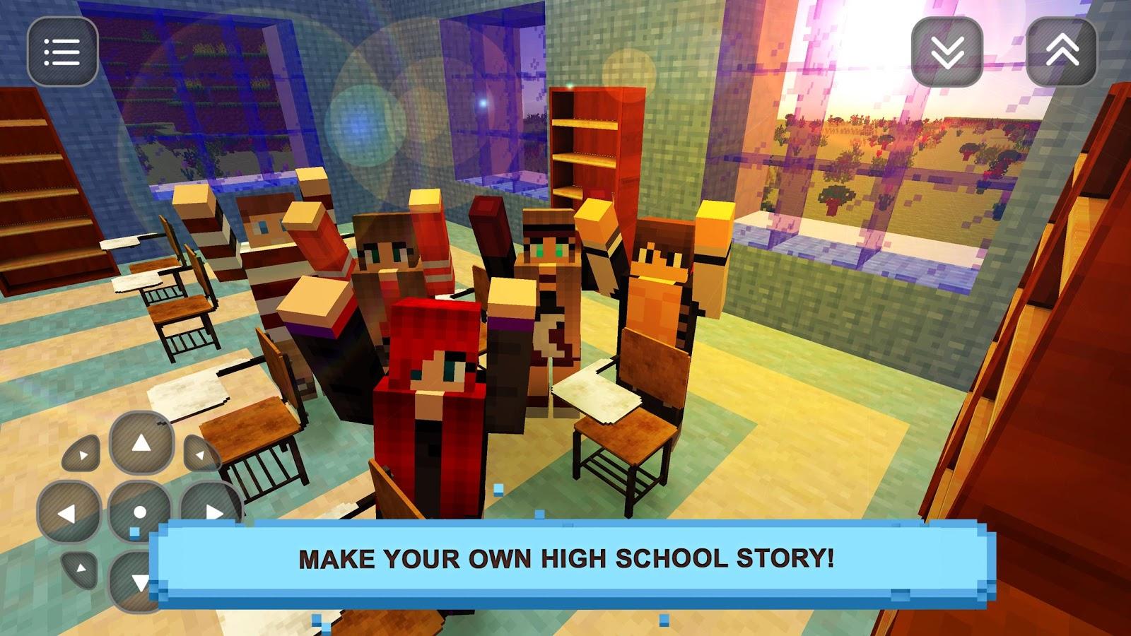 Crafts for highschool students - High School Girls Craft Story Screenshot