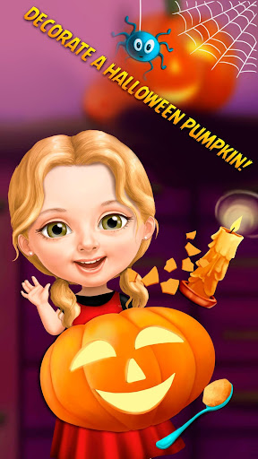 Sweet Baby Girl Halloween Fun screenshots 4