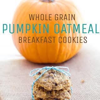 Oatmeal Pumpkin Breakfast Cookies.