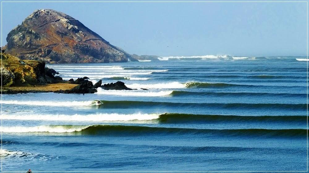 Puerto Chicama, lugar da onda mais longa e perfeita do mundo