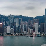 view from Eyebar in Hong Kong in Hong Kong, , Hong Kong SAR