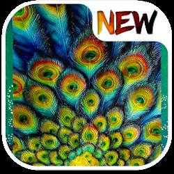 Art Peacock Wallpaper