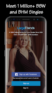 BBW Dating & Curvy Singles Chat- LargeFriends 5.3.4 Unlocked MOD APK Android 1
