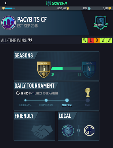 PACYBITS FUT 19 (Mod Money)