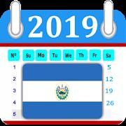 El Salvador 2019 Calendar-Holiday