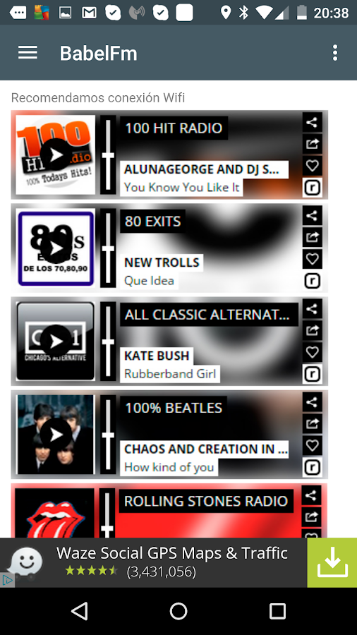 BabelFm - Music News- screenshot