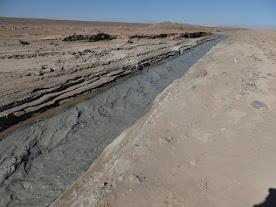 Relaves que llegan a Pampa Austral