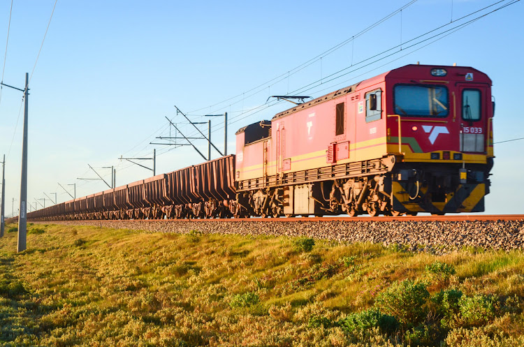 Transnet Freight Rail runs the world's longest production trains between Sishen in the Northern Cape and Saldanha port 861km away. Picture: SUPPLIED