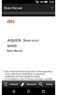 SHV33 Basic Manual - náhled