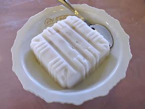 Photo: This custard apple-coconut milk ice is one of the dessert choices at Mallika.