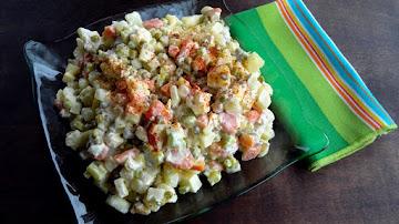 Polish Vegetable Salad Recipe