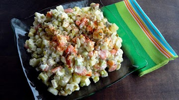 Polish Vegetable Salad Recipe
