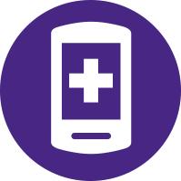 Simplified Smart Phone Illustration
