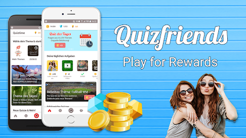 Quiz Friends - cash quiz & make money - Apps en Google Play
