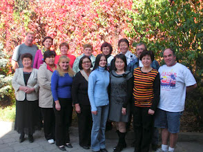 Photo: The service team is pictured with participants of the Women's Issues: Education, Counseling and Assistance Program.