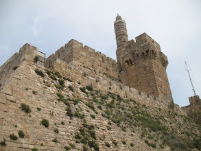 Photo: The Wall around the Old City of Jerusalem