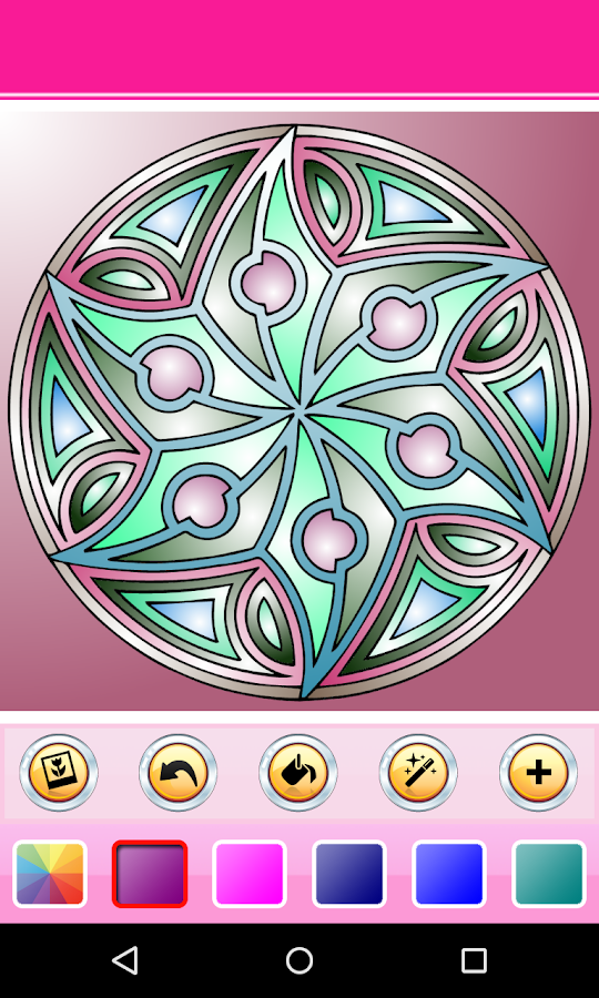 coloring book mandala hd android apps on google play. Black Bedroom Furniture Sets. Home Design Ideas