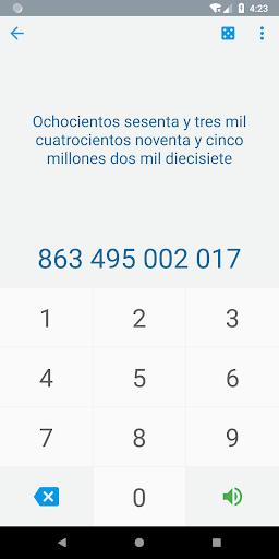 Numbers in Spanish  screenshots 1