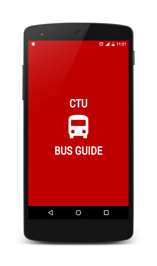 CTU Bus Guide- screenshot