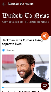 Window To News- screenshot thumbnail