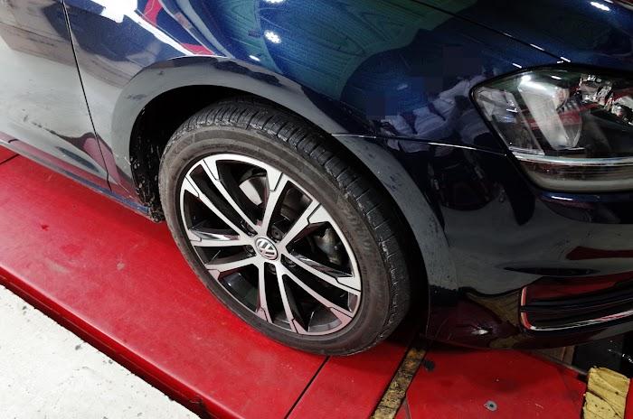 기존 타이어 모습