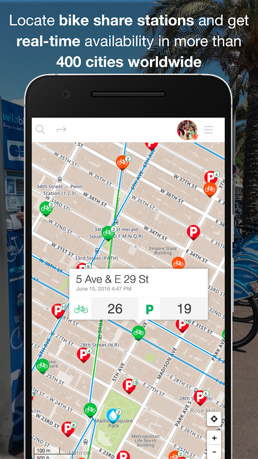 CycleMap : Bike Route Planner- screenshot