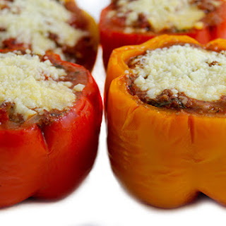 Skinny Italian-Style Stuffed Peppers