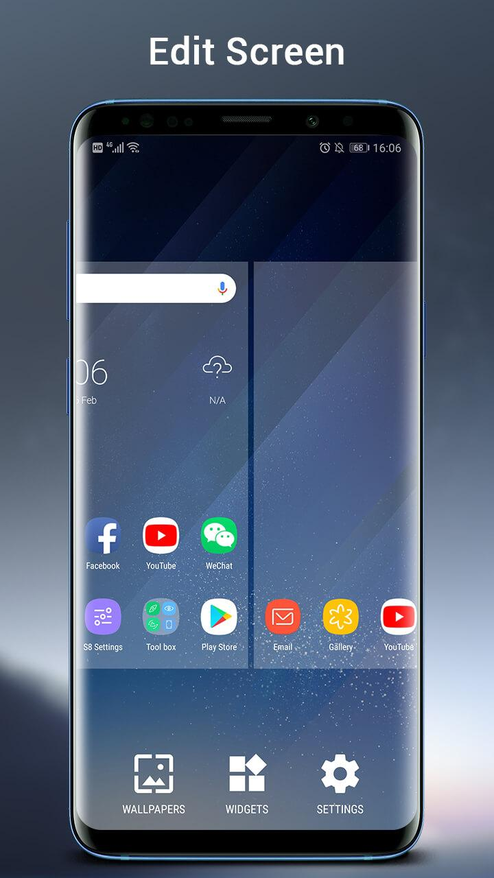 SO S10 Launcher for Galaxy S,  S10/S9/S8 Theme Screenshot 5