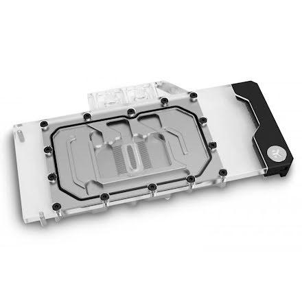 EK vannblokk for skjermkort, EK-Quantum Vector Trinity RTX 3080/3090 D-RGB - Nickel+Plexi