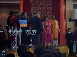 Photo: Speakers & delegates pose for photos.  http://canadaindiaeducation.com/ciec-and-harper-attend-14th-national-diwali-celebration