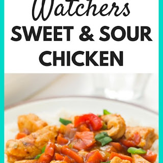 Weight Watchers Slow Cooker Sweet and Sour Chicken Recipe