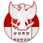 Happy Indonesia Independence day Theme 2D icon
