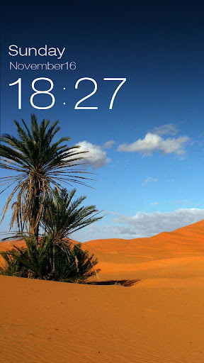 ZUI Locker Theme - Sahara