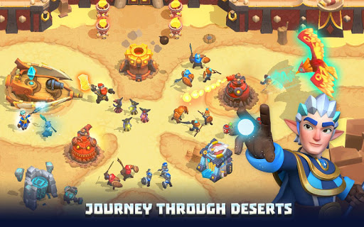 Wild Sky TD: Tower Defense Legends in Sky Kingdom filehippodl screenshot 9
