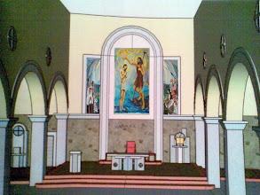 Photo: Ovako će izgledati prezbiterij župne Crkve u Podhumu