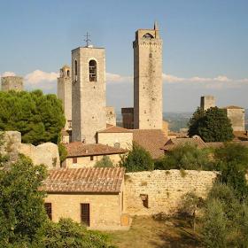 Обои Башни Сан-Джиминьяно